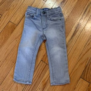 OLD NAVY Boys'/Unisex 18-24Mo Gray lightwash Jeans